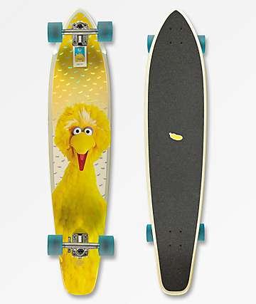 "Globe x Sesame Street Byron Bay Big Bird 43"" longboard completo"