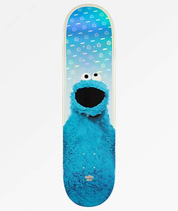 "Globe x Sesame Street Cookie Monster 8.125"" Skateboard Deck"