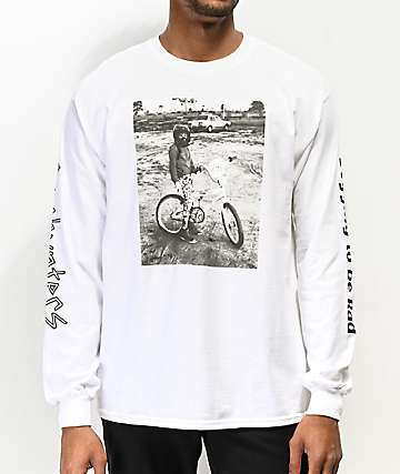 Gnarhunters Begging To Be Rad White Long Sleeve T-Shirt