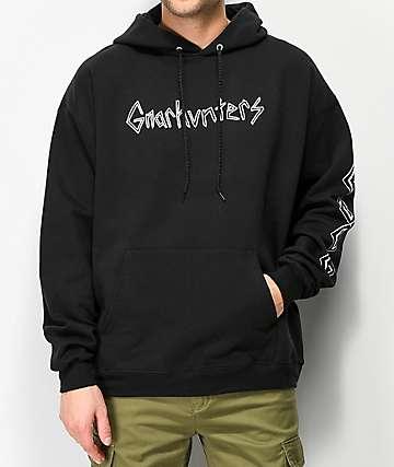 Gnarhunters Classic Black Hoodie