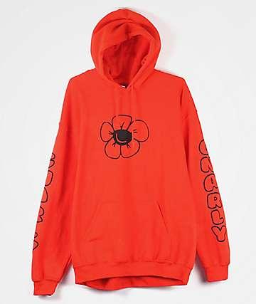 Gnarly Joy Orange Hoodie