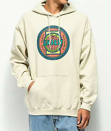 Gnarly Native sudadera con capucha marrón