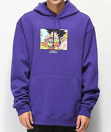 Gnarly Ramen Purple Hoodie
