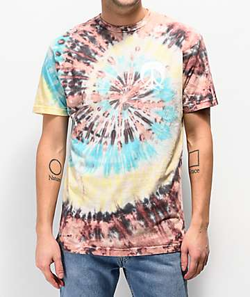 Gnarly Wildflowers Tie Dye T-Shirt