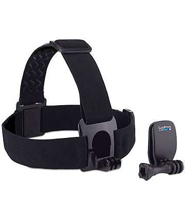 GoPro Head Strap & QuickClip Mounting System
