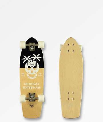 "Gold Coast Dead Dayz 28"" cruiser completo de skate"