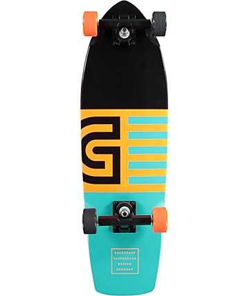 """Gold Coast Jetty 28"""" tabla de skate cruiser completo"""