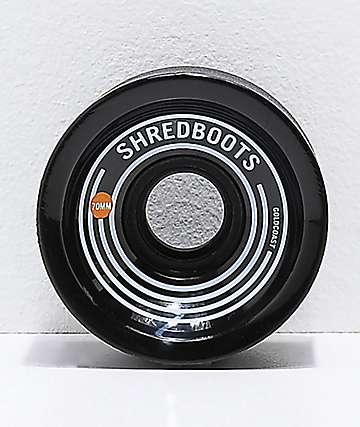 Gold Coast Shred Boots 70mm 85a ruedas de skate negras