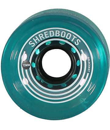 Gold Coast Shred Boots 70mm Longboard Wheels