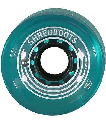 Gold Coast Shred Boots 70mm ruedas de longboard