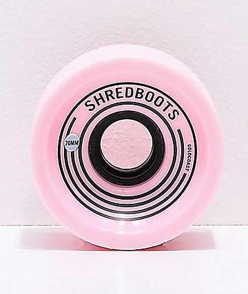 Gold Coast Shred Boots Acid 70mm 85a ruedas de skate rosas
