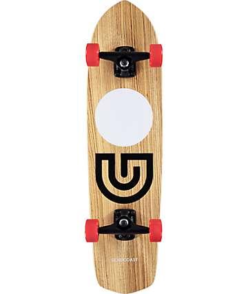"Gold Coast Slap Stick Zebra 31"" tabla de skate cruiser completo"