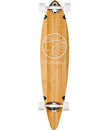 "Gold Coast The Classic Bamboo Floater 40""  Longboard Complete"