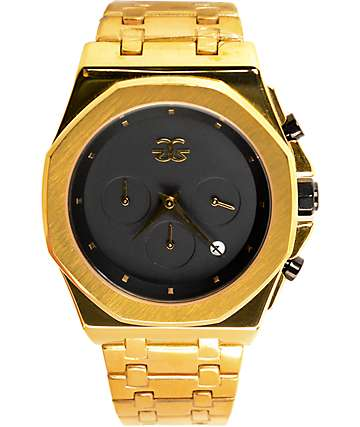 Gold Gods Octavious Chrono Gold Watch