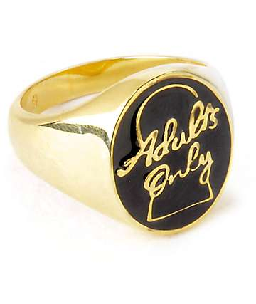 Good Worth & Co. Adults Only Ring
