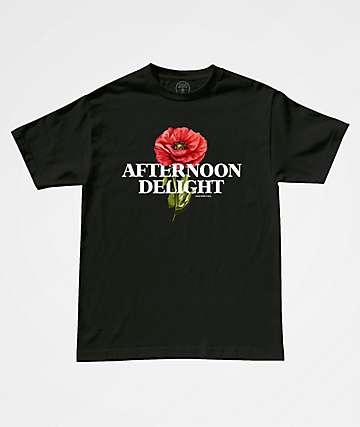 Good Worth & Co. Afternoon Delight Black T-Shirt