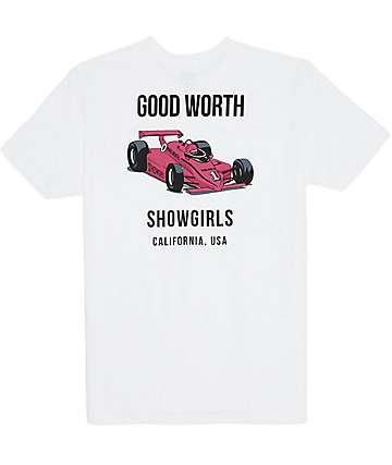 Good Worth Grand Prix White T-Shirt