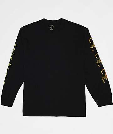Good Worth Scorpion Black Long Sleeve T-Shirt
