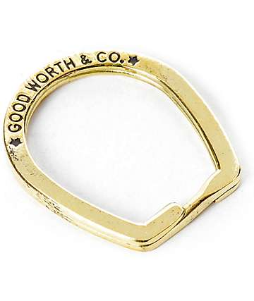 Good Worth Split Ring llavero