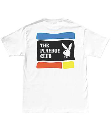 Good Worth x Playboy Club White T-Shirt