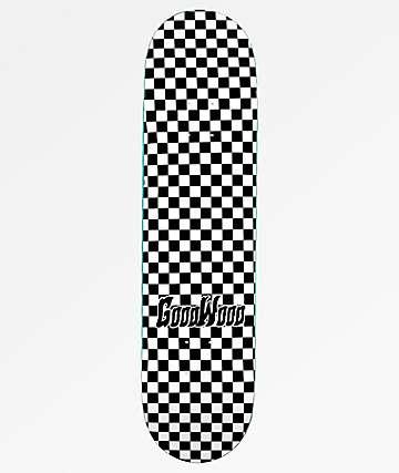 """Goodwood Checkers 8.0"""" Skateboard Deck"""