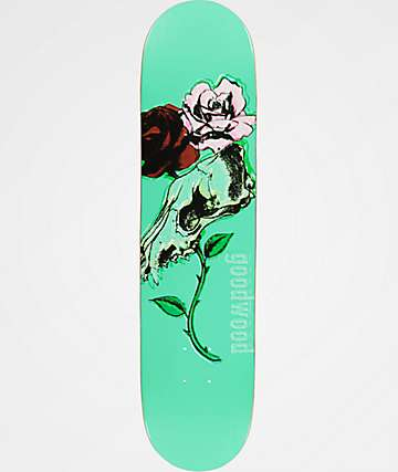 "Goodwood Coyote Flowers 7.63"" Skateboard Deck"