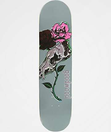 "Goodwood Coyote Flowers 7.87"" Skateboard Deck"