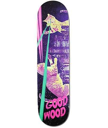 """Goodwood Kitty Riot 8.0"""" Skateboard Deck"""