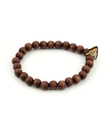 Goodwood NYC Arrow Head Brown Bracelet