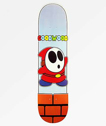 "Goodwood Shy Guy 8.0"" Skateboard Deck"