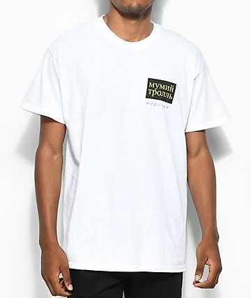 Gosha X Mumiy Troll White T-Shirt