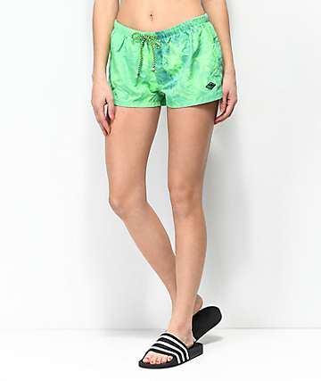 Gotcha Far Out Green Board Shorts