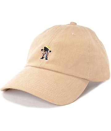 Grizzly Felipe Bear Khaki Baseball Hat