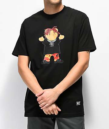 Grizzly Lil Red Black T-Shirt