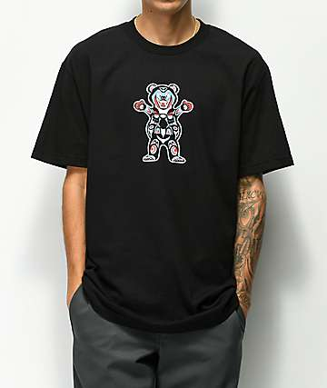 Grizzly Northwest Tour Black T-Shirt
