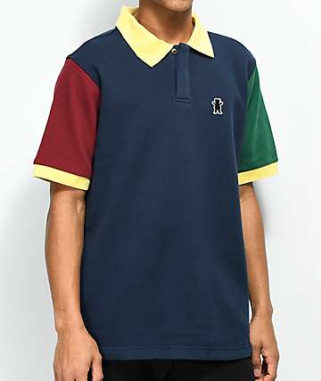Grizzly Richmond Multi-Colored Polo Shirt