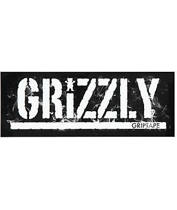 Grizzly Smoke Stamp Sticker