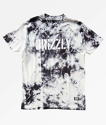 Grizzly Storm Front Tie Dye T-Shirt