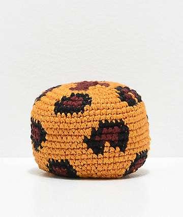 Guatamalart Leopard Crochet Hacky Sack