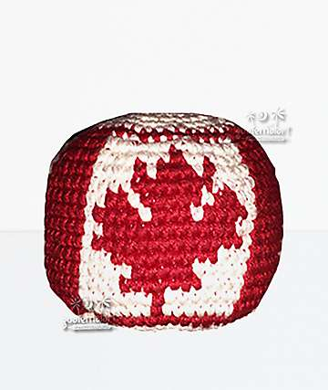 Guatemalart Canadian Flag Hacky Sack
