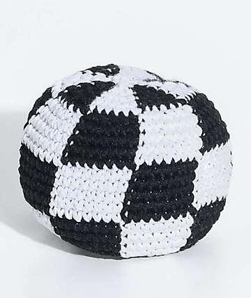 Guatemalart Checkerboard Hacky Sack