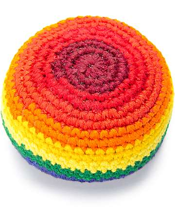 Guatemalart Rainbow Fade Hacky Sack