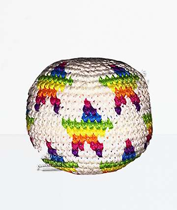 Guatemalart Rainbow Star Hacky Sack