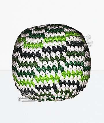 Guatemalart Wavy Green Hacky Sack