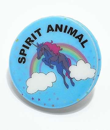 Gumball Poodle Spirit Animal Pin