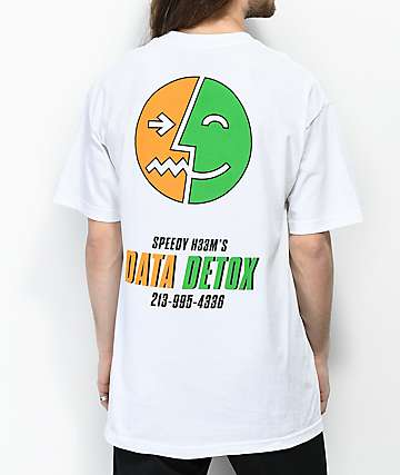 H33M Detox Safety White T-Shirt