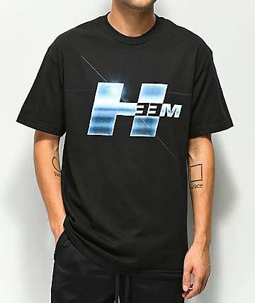 H33M Fast Logo Black T-Shirt
