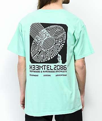 H33M H33MTEL Teal T-Shirt