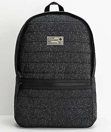 HEX Logic Reflective Black Backpack