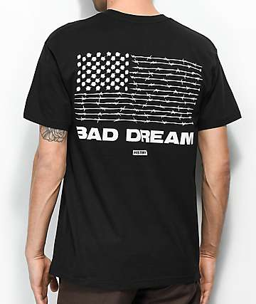 HSTRY Bad Dream Black T-Shirt